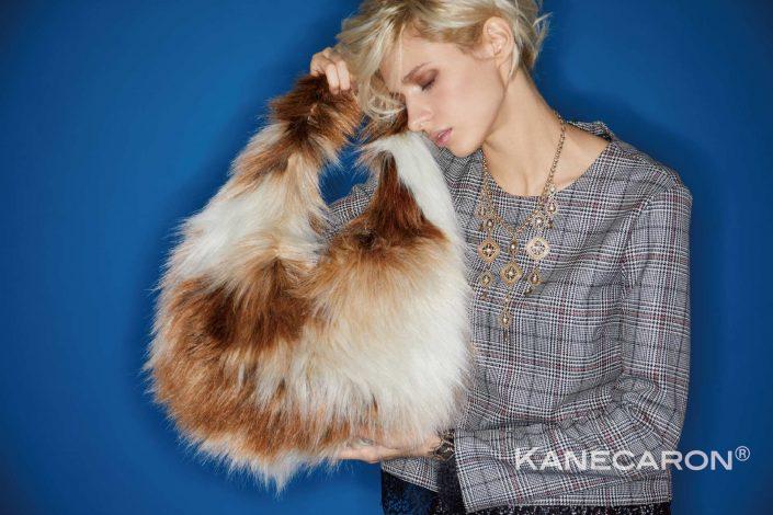 Kanecaron Modacrylic Fibre fashion handbag