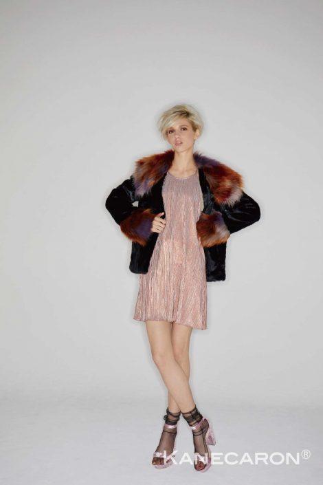 Kanecaron Modacrylic Fibre fashion jacket 2